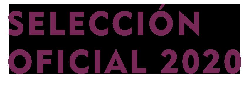 SELECCIÓN OFICIAL 2020